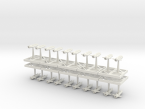 Infantry Boarding Ship in White Natural Versatile Plastic