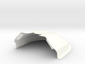F16 COCKPIT SKYMASTER (L) in White Processed Versatile Plastic