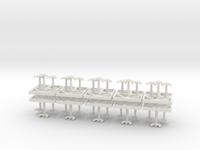 Monolith Ordinance - Assault Crafts - Concept A  in White Natural Versatile Plastic