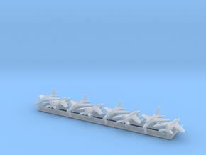 Ajeet/Gnat w/Gear x8 (FUD) in Smooth Fine Detail Plastic: 1:600