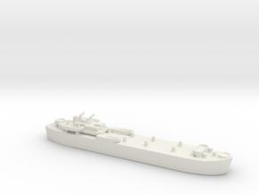landing ship tank MK3 LST 1/700 1 in White Natural Versatile Plastic