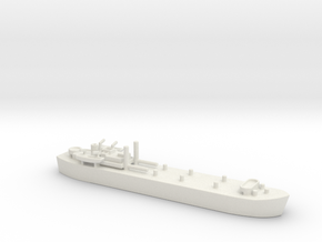 landing ship tank HMS MESSINA LST 3043 1/700 in White Natural Versatile Plastic