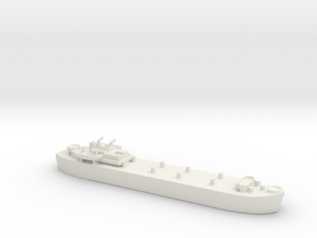 landing ship tank MK3 LST MK3 1/700 in White Natural Versatile Plastic