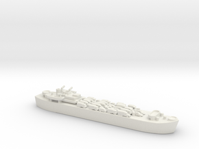 landing ship tank MK3 LST MK3 1/700 2 in White Natural Versatile Plastic