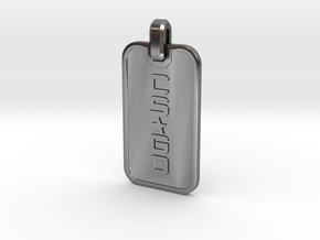 CS:GO - Dogtag Ringed in Polished Silver