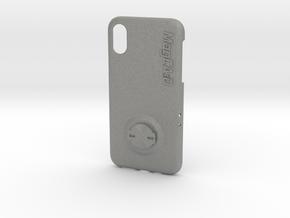 iPhone XS Garmin Mount Case in Gray PA12