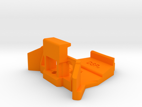 Universal mount for all Mavic Remote Controls in Orange Processed Versatile Plastic