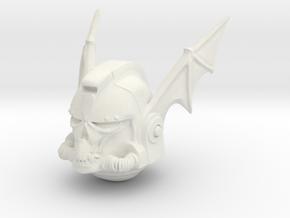 Marine_mkbatwing_helmet in White Natural Versatile Plastic