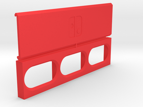 Switch Cartridge Travel Case in Red Processed Versatile Plastic