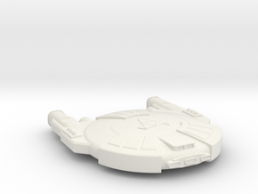 3125 Scale Andromedan Mamba Heavy Destroyer SRZ in White Natural Versatile Plastic