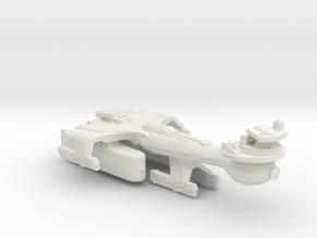 3125 Scale Klingon B10TK Emergency Battleship WEM in White Natural Versatile Plastic