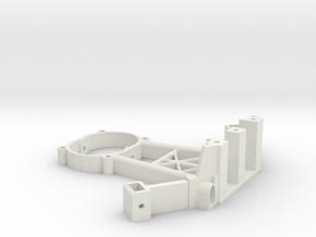 [B3] Motor Mount Bracket Arm in White Natural Versatile Plastic