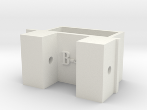 [B4] ESC Bracket Mount in White Natural Versatile Plastic