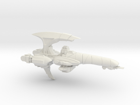 Corsair Class Escort - Concept B in White Natural Versatile Plastic
