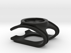 Speed Concept Garmin Mount (without GoPro mount) in Black Natural Versatile Plastic