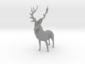 O Scale Deer in Gray PA12