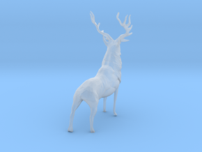 O Scale Elk in Smooth Fine Detail Plastic