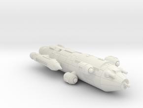 3788 Scale Iridani Barque-B MGL in White Natural Versatile Plastic