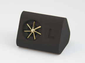 Style Fans Cufflinks in Polished Brass