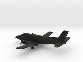 Embraer EMB 110 P1 Bandeirante in Black Natural Versatile Plastic: 1:200