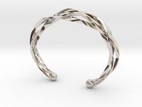 Vision Bracelet  in Rhodium Plated Brass