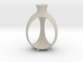 Candle holder | Bud in Natural Sandstone