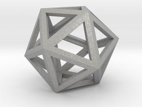 Icosahedron in Aluminum
