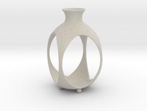 Tea Light Lantern | Vase in Natural Sandstone