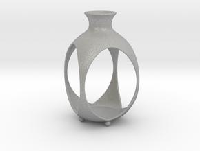 Tea Light Lantern   Vase in Aluminum