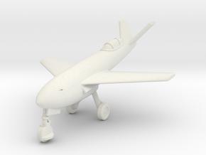 (1:144) Messerschmitt Me P.1106 Rocket (Gear down) in White Natural Versatile Plastic