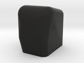 rail cover Volvo 480 venetian blinds in Black Natural Versatile Plastic