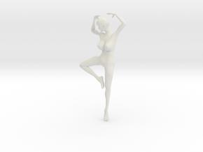 Printle L Femme 319 - 1/18 - wob in White Natural Versatile Plastic