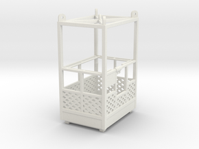 Man basket 1:50 in White Natural Versatile Plastic