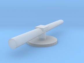 Regia Marina Spica torpedo tube in Smooth Fine Detail Plastic: 1:300