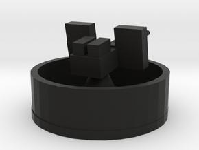 40mm twin bofors in Black Natural Versatile Plastic: 1:300