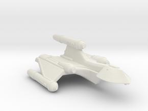 3788 Scale Romulan SparrowHawk-J+ Assault Cruiser in White Natural Versatile Plastic
