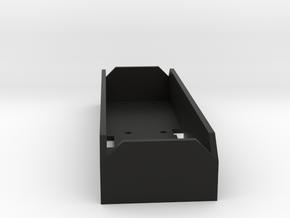Vaterra Ascender battery tray  in Black Natural Versatile Plastic