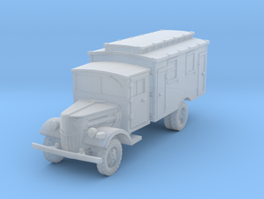 Ford V3000 Ambulance late 1/200 in Smooth Fine Detail Plastic