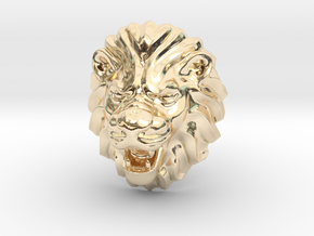 LION RING SIZE 9 1/4 in 14K Yellow Gold