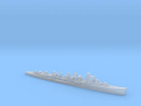 HMS Delhi 1:3000 WW2 naval cruiser in Smoothest Fine Detail Plastic