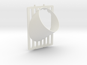 Nissan skyline R32 vent gauge holder in White Natural Versatile Plastic