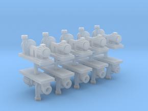 Zentrifugalpumpe  neuere Bauart 10erSet - TT 1:120 in Smooth Fine Detail Plastic