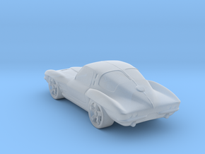 Chevrolet Corvette StingRay 1:120 TT in Smooth Fine Detail Plastic