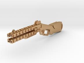 Peacekeeper shotgun keychain fob in Natural Bronze
