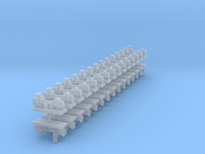 Zentrifugalpumpe neuere Bauart 30erSet - TT 1:120 in Smooth Fine Detail Plastic