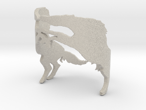 Wild Horses  Ring Size 6 in Natural Sandstone: 6 / 51.5