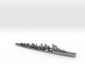 HMS Delhi 1:2400 WW2 naval cruiser in Natural Silver