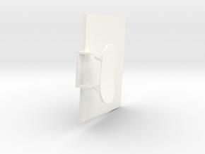 1.2.7 HUGHES 500D COCKPIT (C) in White Processed Versatile Plastic