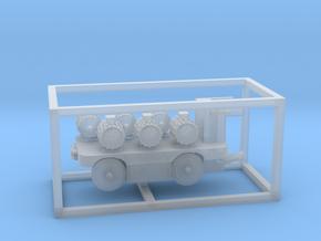 E-Karren Flachwagen 6x E-Motoren A - 1:120 TT in Smooth Fine Detail Plastic