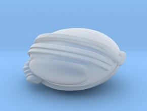 SpaceHelmetv3j in Smooth Fine Detail Plastic